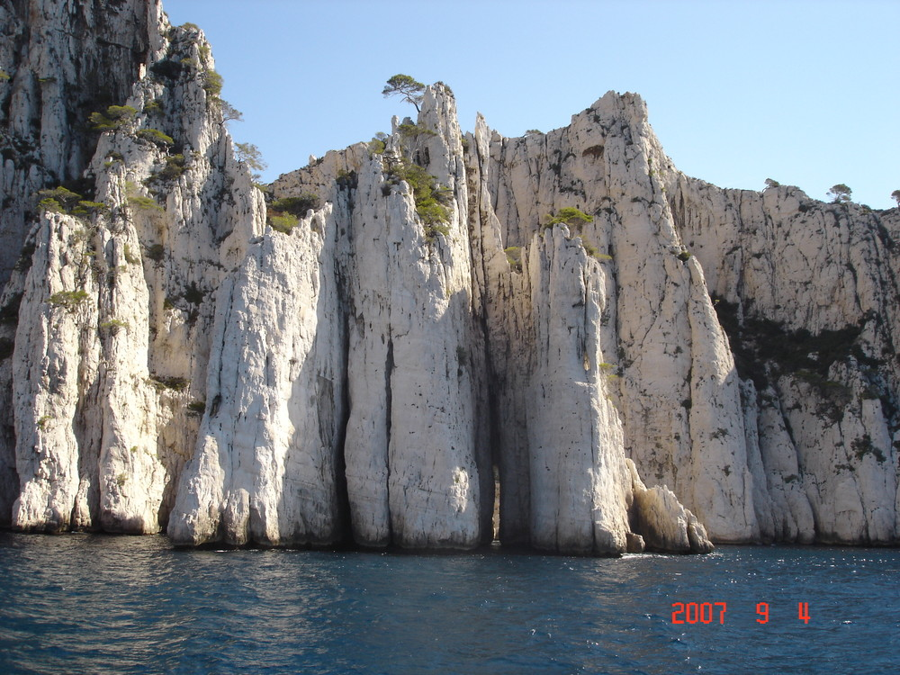 Les Calanques de Marseille France