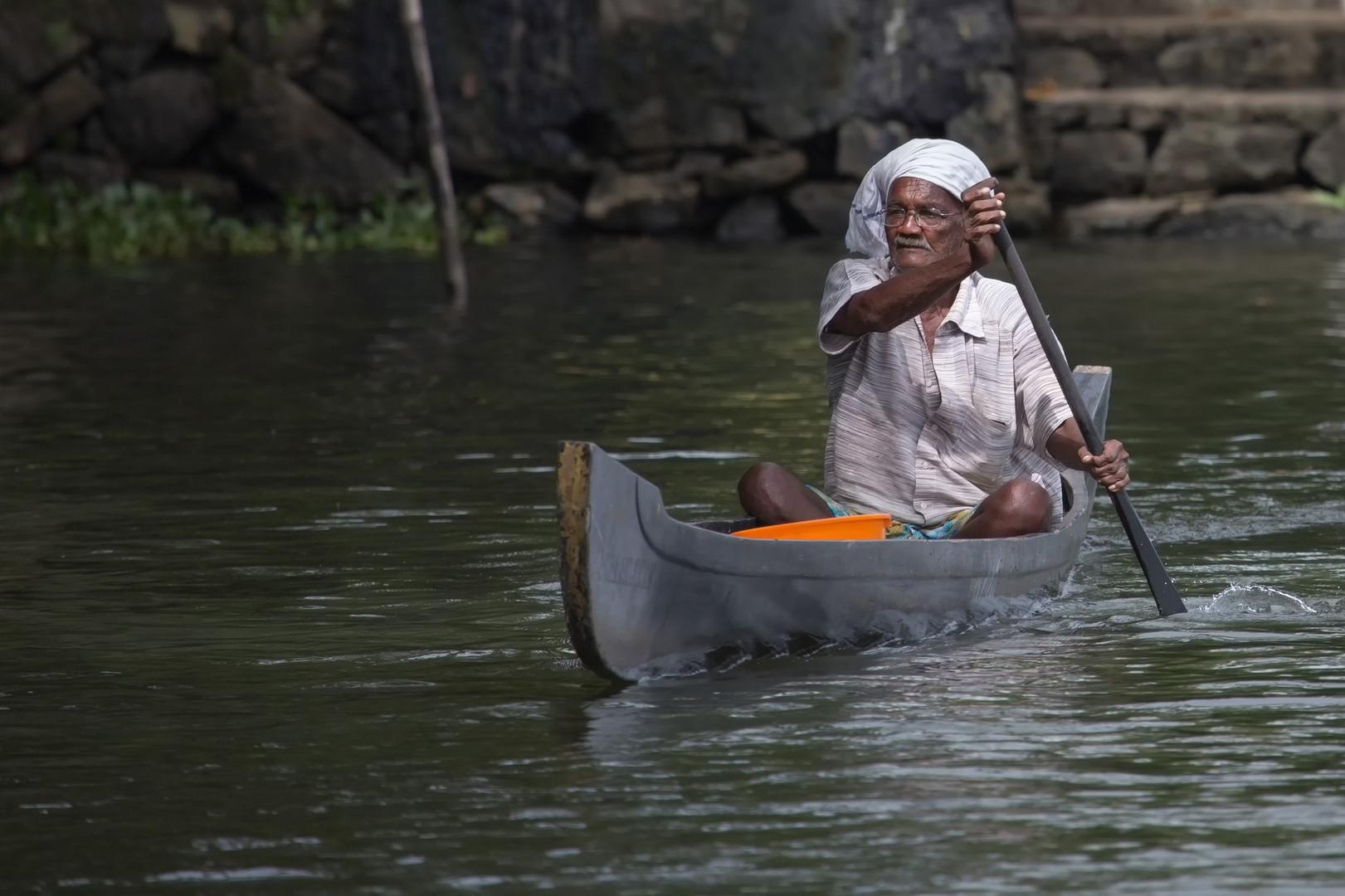 Les canaux sont les routes des backwaters
