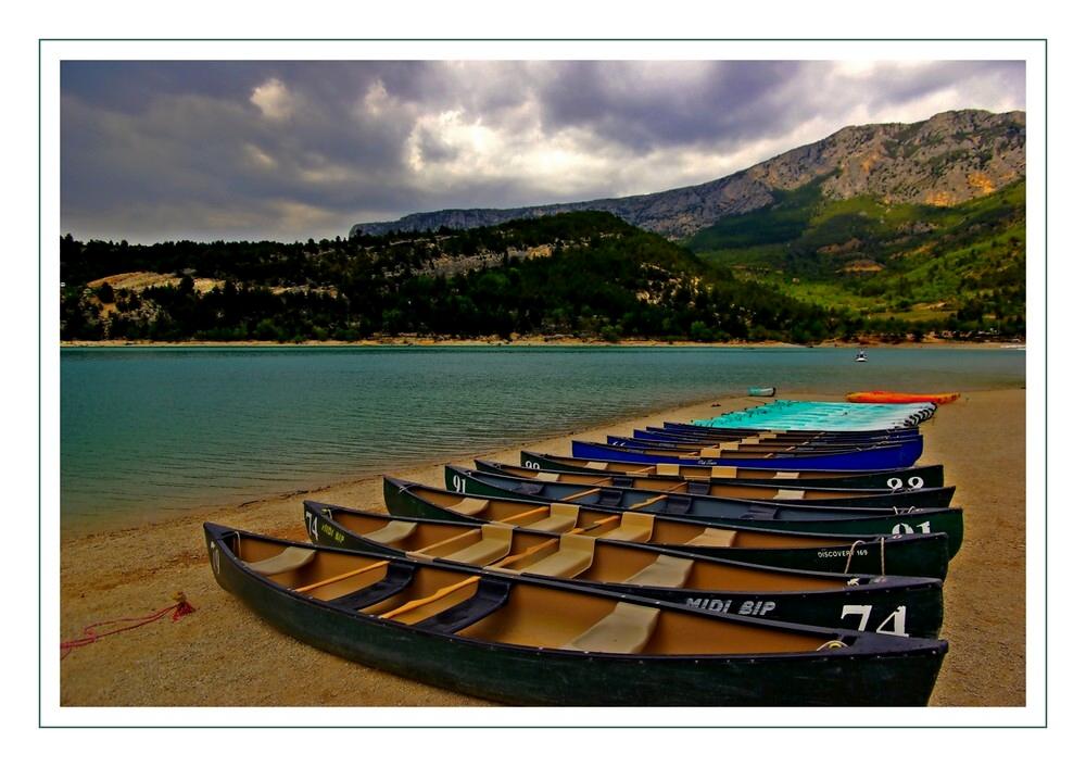 les canoes