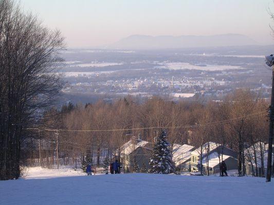 Les cantons de l'Est, Québec