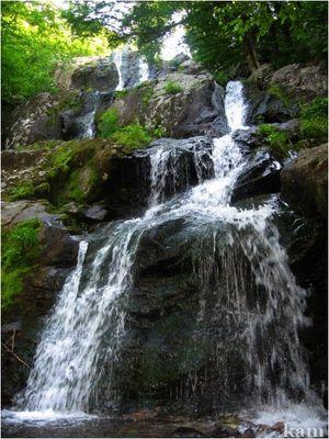 Les cascades m'ont toujours fascinée