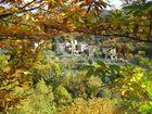 Les Cevennes - Bourg en automne au Col de l'Asclier