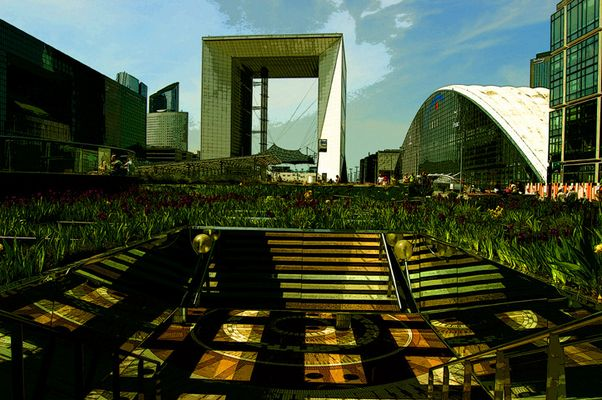 les champs de la defense