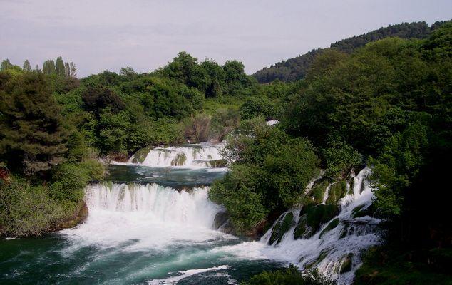 Les chutes de Krka - Croatie