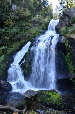 les chutes de Triberg en Forêt Noire