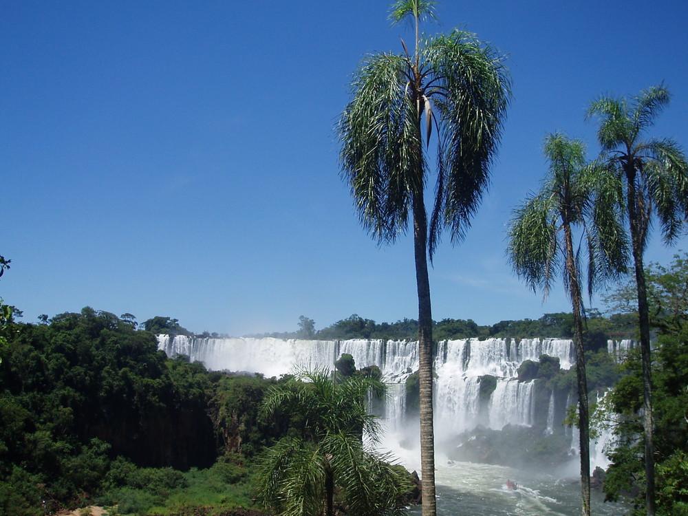 Les chutes d'Iguazù (côté Argentin)