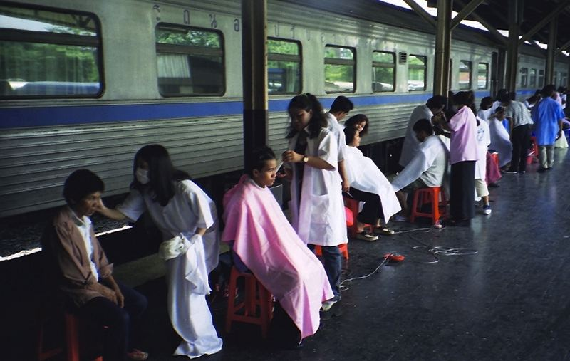 les coiffeurs de Bangkok