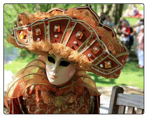 Les Costumés 2013 des Jardins d'Annevoie