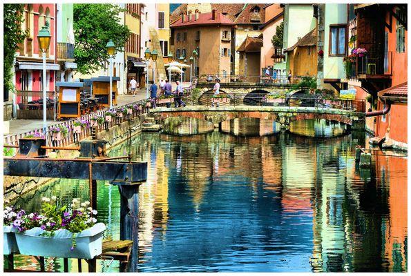 Les couleurs d'Annecy