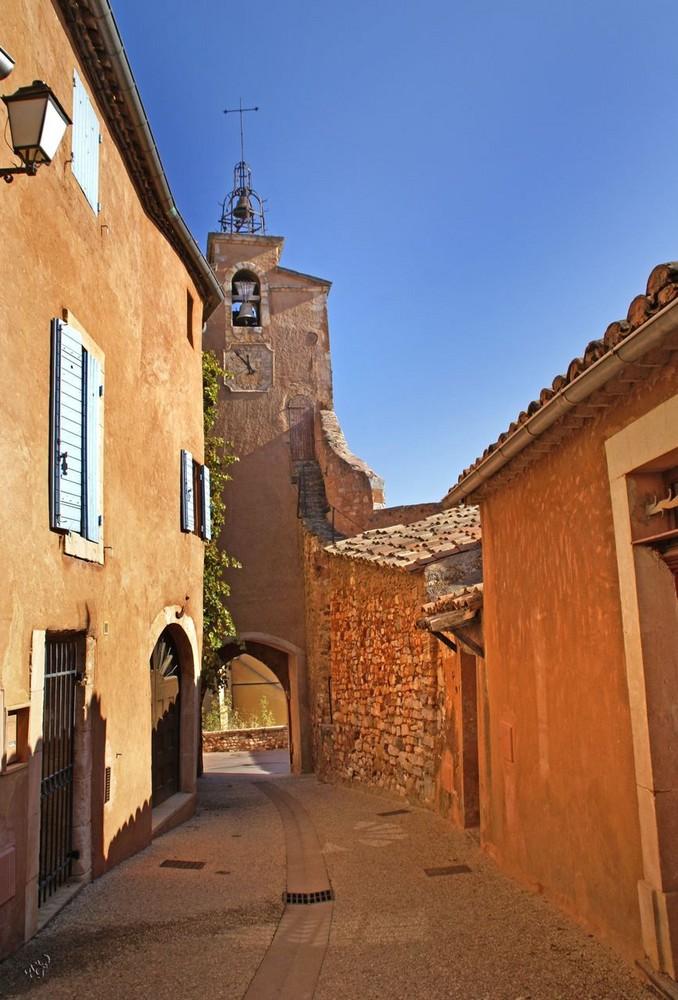 Les couleurs de la rue à Roussillon