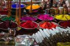 Les couleurs de l'Inde pour les rites hindous