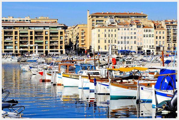 Les couleurs du Vieux-Port