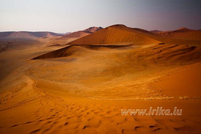 Les dunes de Namibie