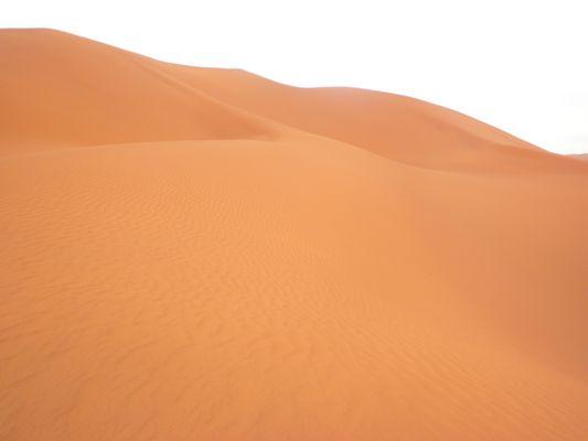 Les Dunes de Sables dans la région de BELLAGBOUR (Wilaya de Illizi)((Algerie))
