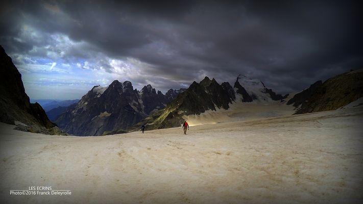 Les Ecrins (le Glacier Blanc - 3 000 m)