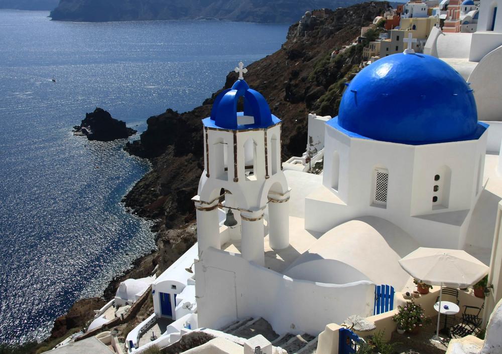 Les églises de Santorin (1)