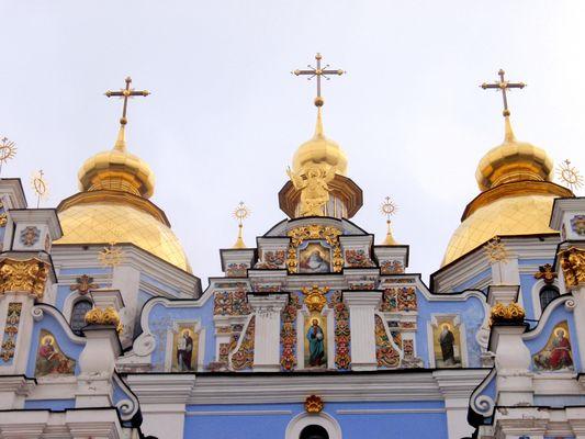 Les églises doreés de Kiev
