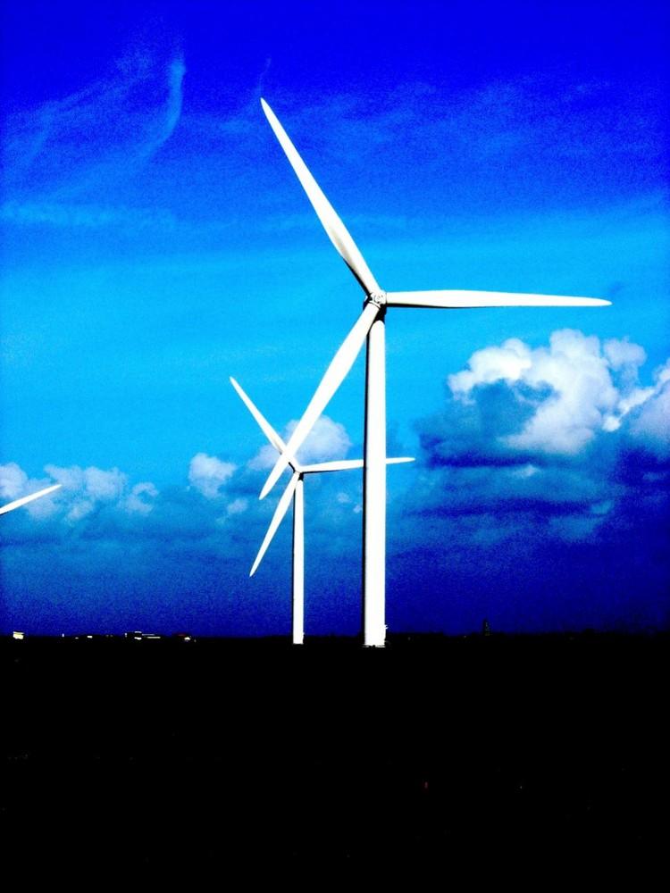 Les éoliennes moulins modernes