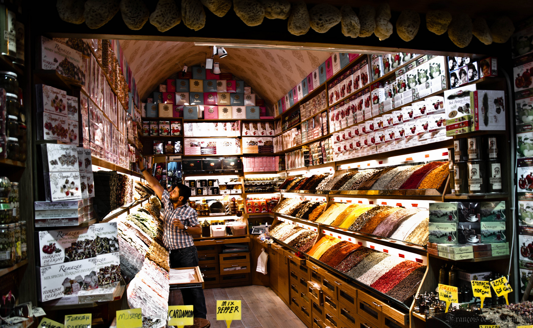 Les épices du Grand Bazar