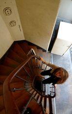 Les escaliers d'Anne. (Paris)