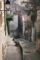 Les escaliers de Lyon
