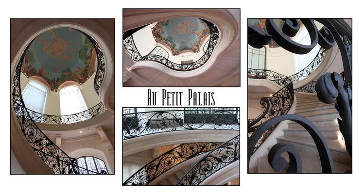 Les escaliers du Petit Palais