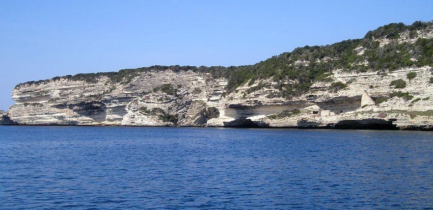 Les falaise de Bonifacio
