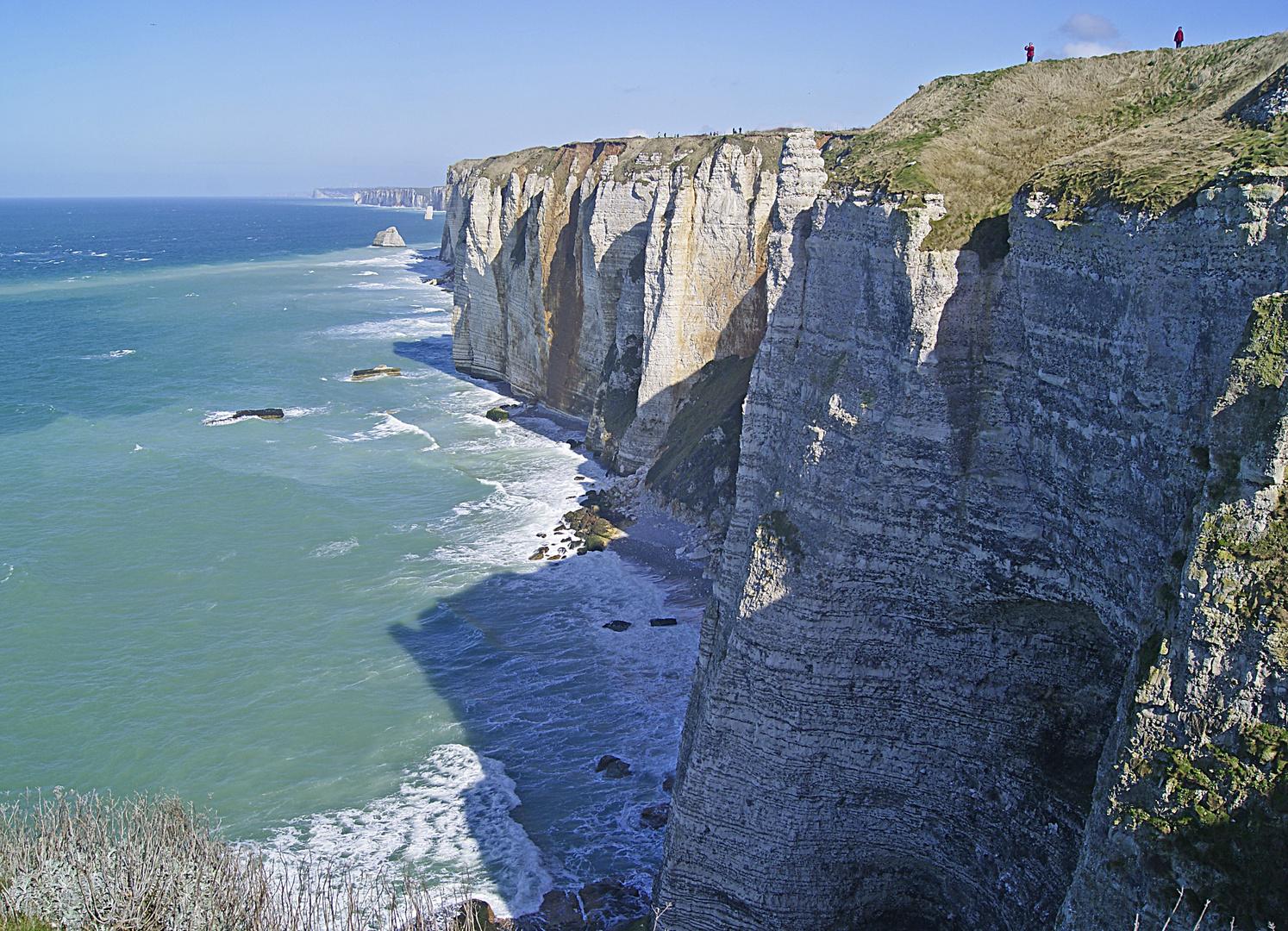 les falaises du Pays de Caux, Seine Maritime