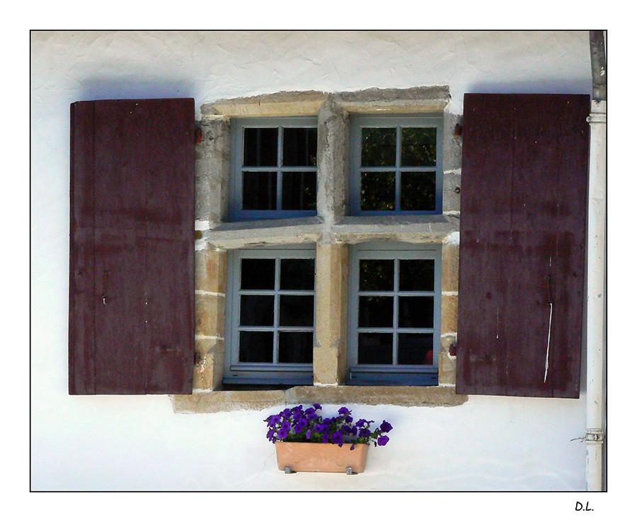 ...Les fenêtres nous guettent... (Jacques Brel )