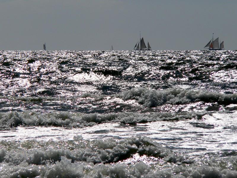 Les flots argentés