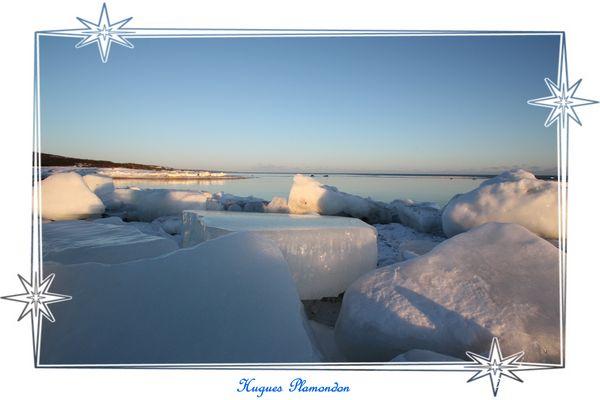 Les glaces du Saint-Laurent