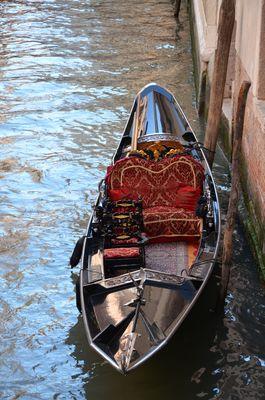 Les gondoles à Venise...
