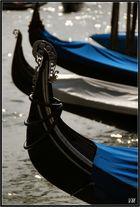 Les gondoles du Grand Canal...
