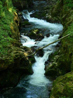 Les Gorges de la Langouette de 42 metres de profondeur