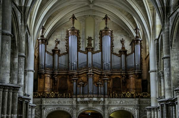 Les grandes orgues de la cathédrale St André (Bordeaux)