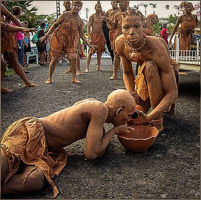 Les hommes d'argiles2. Martinique 02.2008