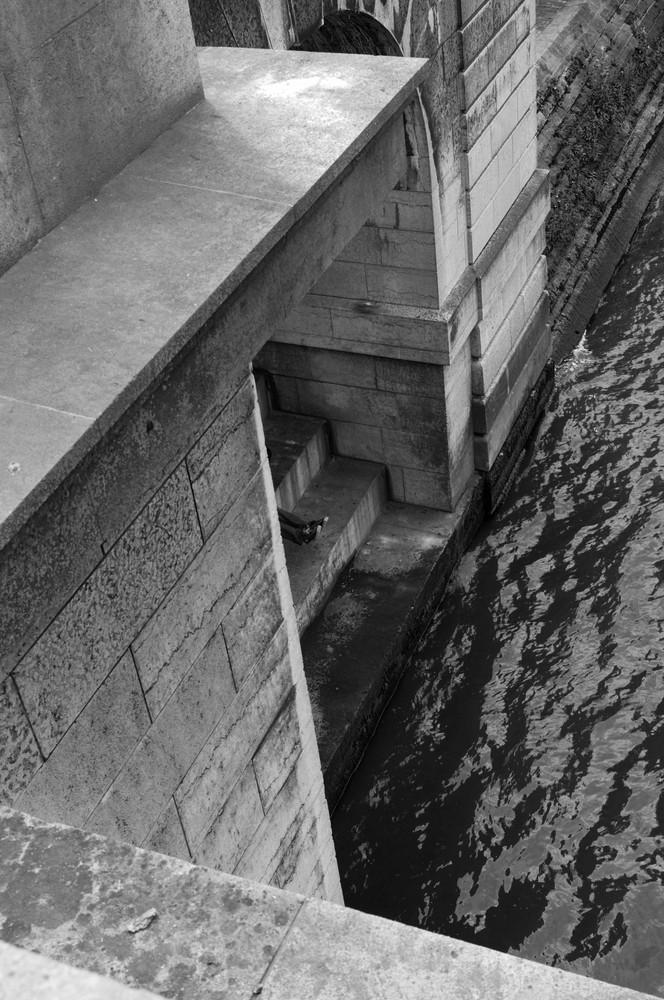 Les jambes du pont des arts