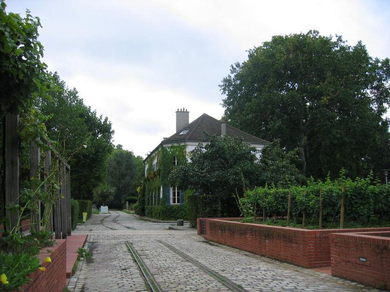 Les jardins de Bercy