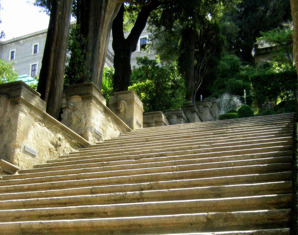 les jardins de la Villa d'Este (Tivoli - Italie)