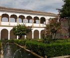 Les jardins de l'Alhambra.