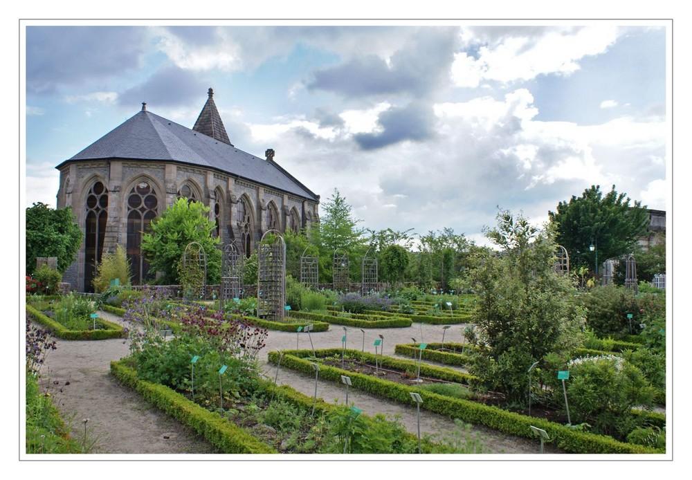 les jardins de l'Evêché à Limoges