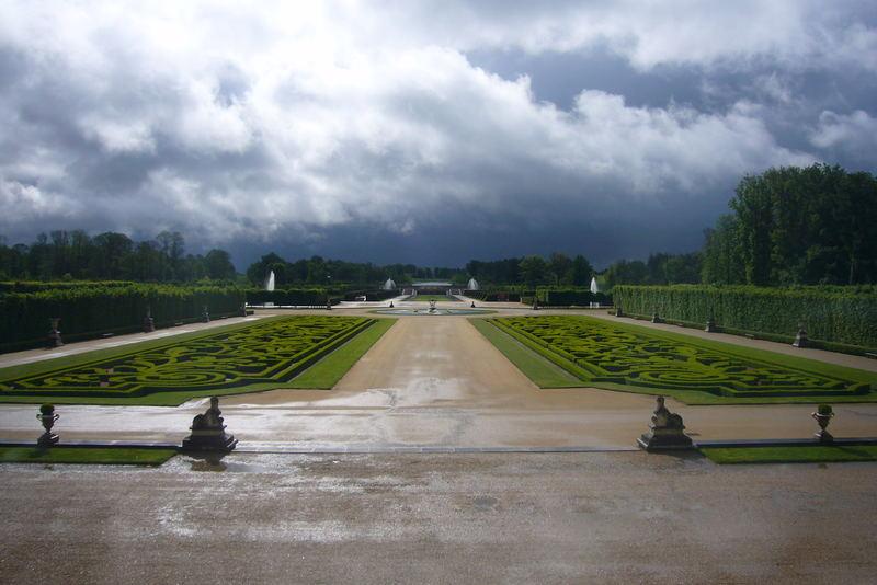 les jardins du Chateau de Champ de Bataille
