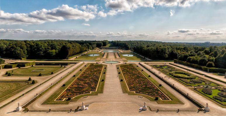 Les jardins du château de Vaux le vicomte