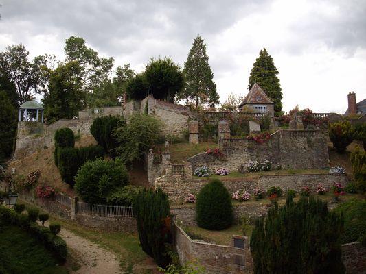 Les jardins suspendus Gerberoy (Oise)