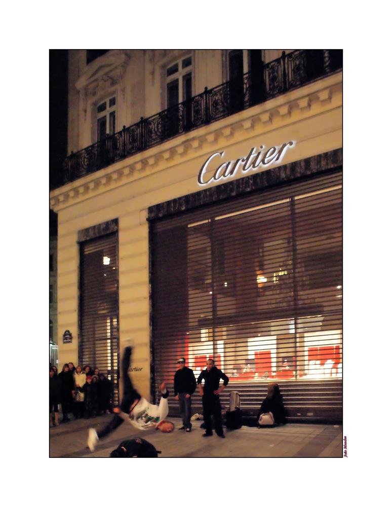 """Les jeunes du """"Cartier"""" mettent le feu !"""