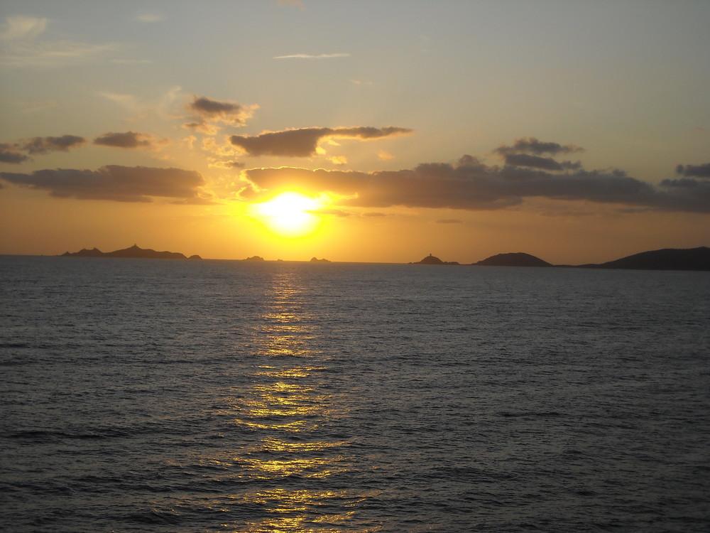 les îles saguinaires + tard.. 2