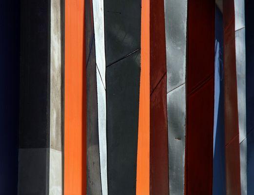 les lignes colorées