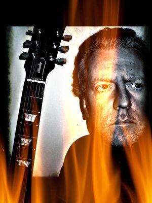 """LES """"live"""" auf der Bühne - Ein Mann Mitte 50 blickt in den Abgrund, zerrissen, brennend - I"""