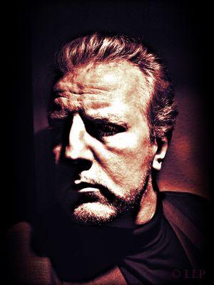 """LES """"live"""" im Tonstudio - Ein Mann Mitte 50 blickt in den Abgrund, ausgelaugt, erloschen - XXXIV"""