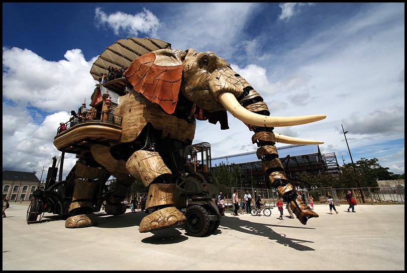 Les machines expo Estuaire Nantes 2007